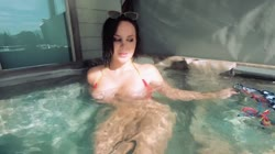 Bikini Bryci Sucks and Fucks Your Cock POV