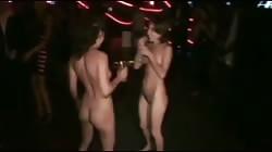 Amateur Cuties nude in crowdy disco