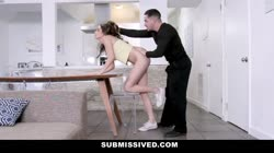Submissived - Green Eyed Teen Submits To Rough Fucking