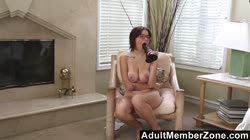 AdultMemberZone - Marina loves to fuck her pussy with a big toy