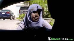 Shy Busty Arab Teen Ass Fucked In Her Hijab