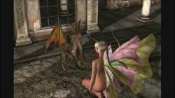 3D Animation: Fairy and Dragon