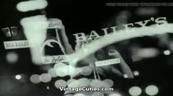 Bouncing Tits in Dancing Girls Compilation (1960s Vintage)