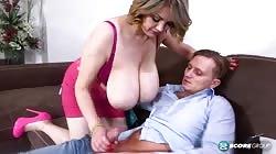 PornMegaLoad Natasha Sweet And The Doortodoor Bra Salesman