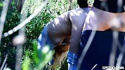 Spizoo  Sky Pierce Blonde Gets Pounded On Outdoor Hike
